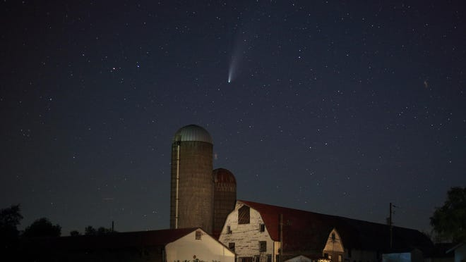 The winning photograph in the Landscape category was taken in Honesdale, Pa., by Jeffrey Sidle of Hawley, Pa.