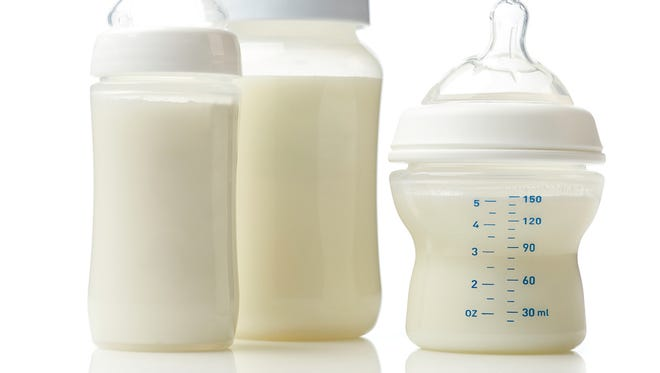 An Indiana man has been charged with conspiring with his girlfriend to try to poison her infant niece by adding crushed painkillers to a bottle of breast milk.