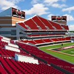 The proposed expansion to Papa John's Cardinal Stadium would include an additional 10,000 seats.