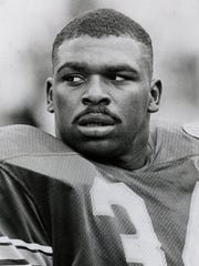 Craig Heyward during his college days at Pittsburgh.