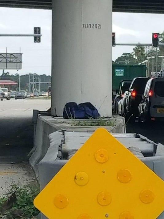 Suspicious bag stalls traffic