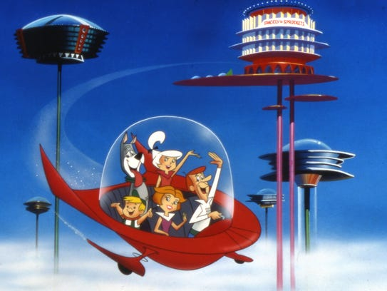 """""""The Jetsons"""" premiered in 1962."""