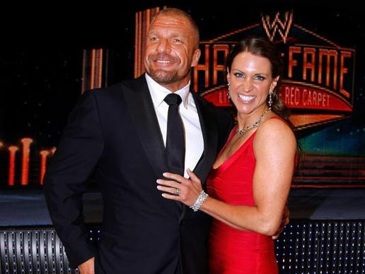 Stephanie McMahon, Paul Levesque, Triple H