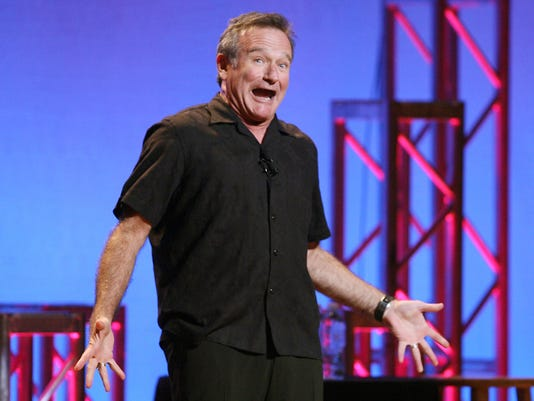 Robin Williams weapons