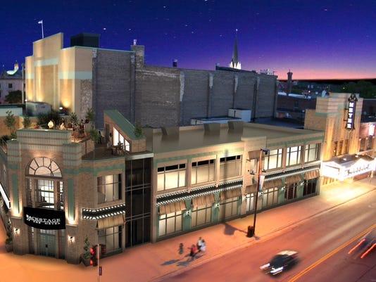 Rendering -- Meyer Theatre