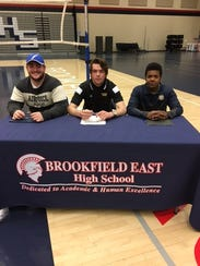 Brookfield East athletes signing on signing day included,