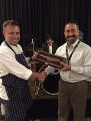 Chef Michael Hirst of Willow Creek Golf Course, winner