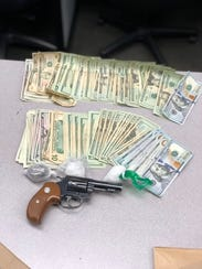 Oxnard police recovered drugs, cash and a gun during