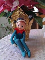 Carol Lutjens of Westwood said this elf is 50 years