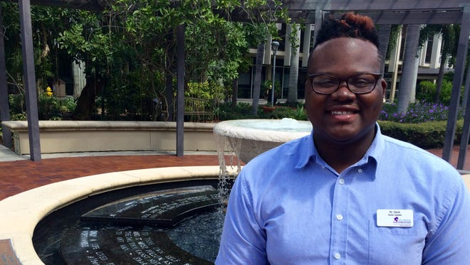 Trevon Davis of Fort Myers qualified for Federal Pell Grants after filling out the Free Application for Federal Student Aid, commonly known as FAFSA. He soon expects to earn a bachelor's degree in education from Florida SouthWestern State College.