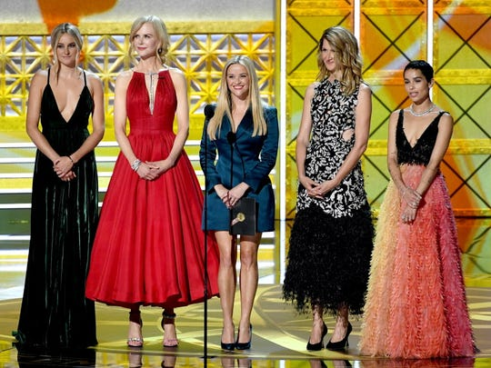 'Big Little Lies' co-stars Shailene Woodley, Nicole