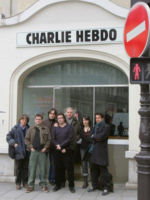 The weekly tabloid office in 2006.