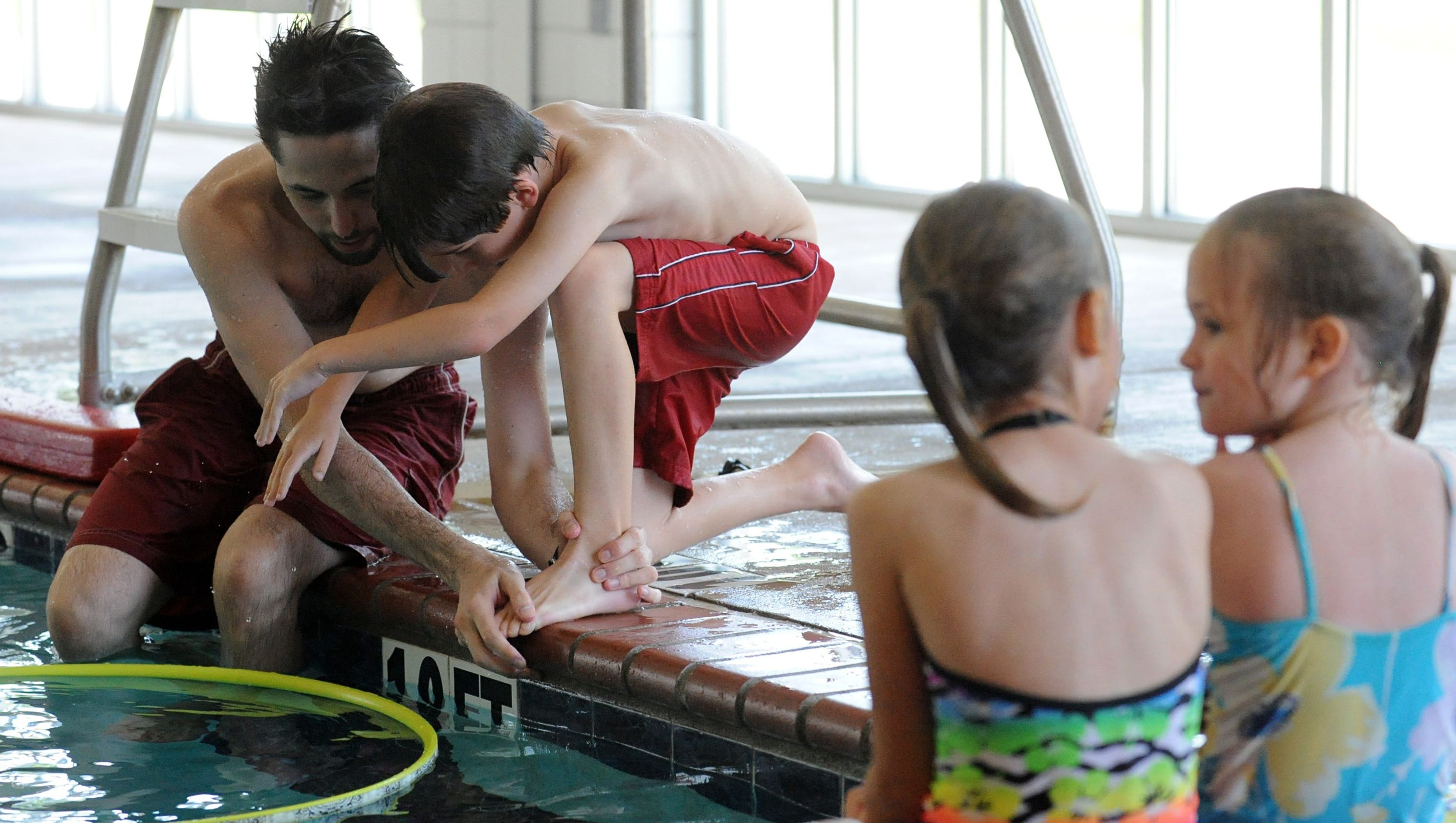 a narrative of swimming classes Swimming lessons has 12525 ratings and 1734 reviews  yes, there was a  mysterious story-line, but the heart of the narrative dwelt on more familial and.