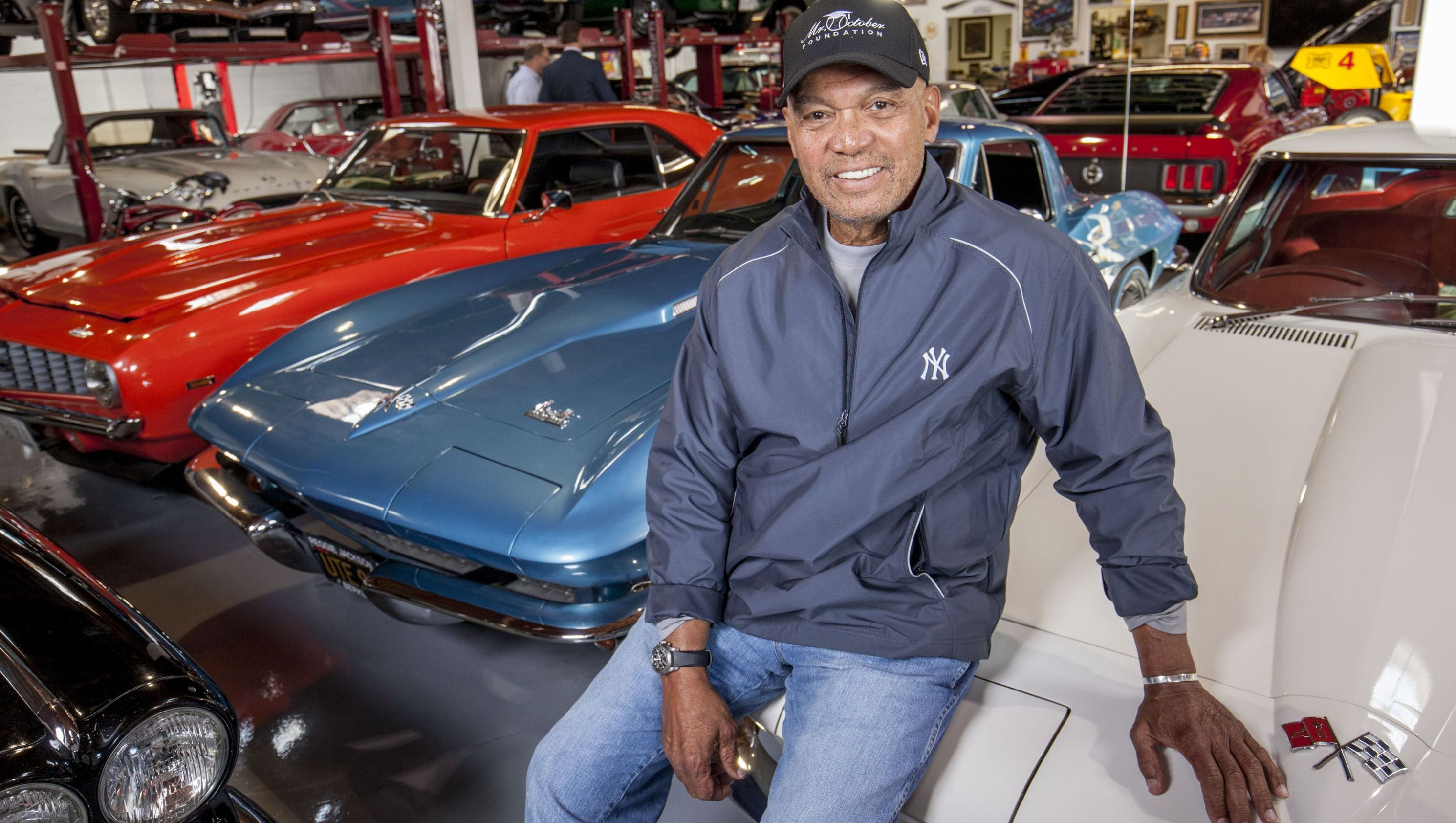 reggie jackson is auctioning off part of his car collection. Black Bedroom Furniture Sets. Home Design Ideas