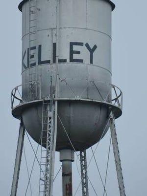 Kelley's watertower. Tribune file photo