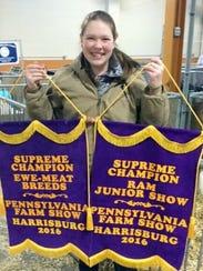 Olivia Waggoner, a 16-year-old Washington Township