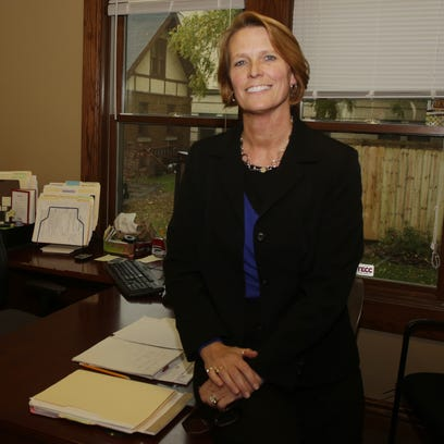 Maria Wierichs is the new executive director at Christine Ann Domestic Abuse Services.