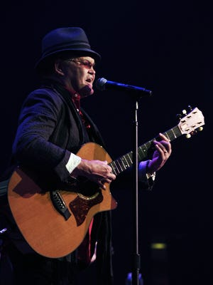 Micky Dolenz  of The Monkees performs at the Ryman on July 24, 2013.