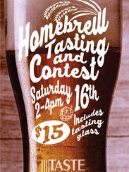 A home brew competition will pit eight local brewers