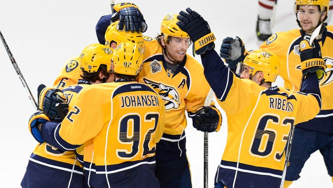 The Predators had a 16-6-6 record in their final 28 games, tied for third-best in the NHL since Feb. 12.