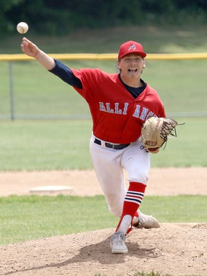 Alliance Elks pitcher Michael Whitaker has been superb throughout the 2020 Hot Stove season.