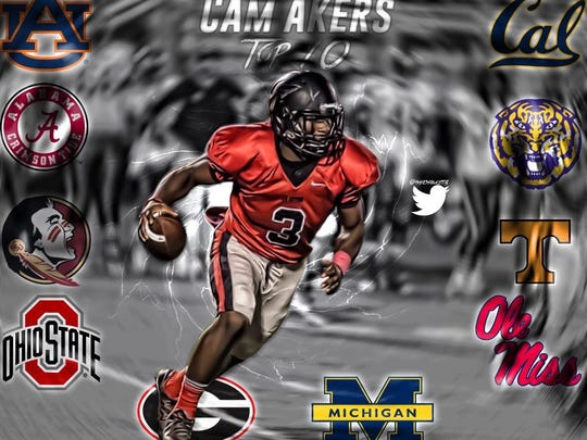 A photo edit made by Hayes Fawcett of Clinton's Cam