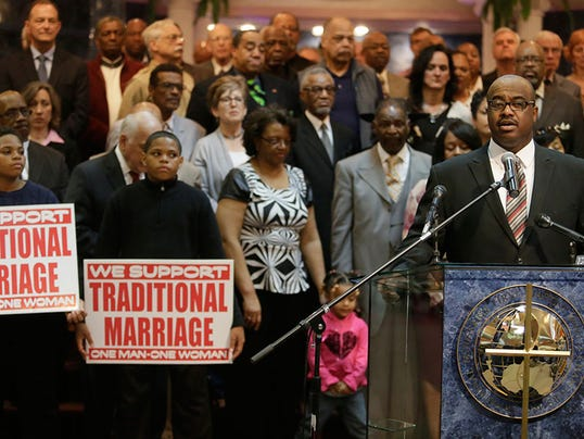 black ministers gay marriage 051414