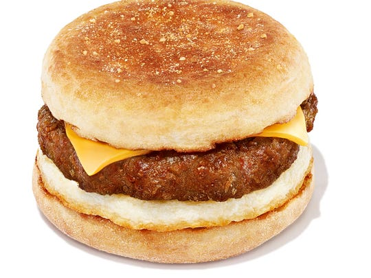 The Dunkin' Beyond Sausage Breakfast Sandwich.