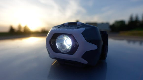 The Nite Ize STS Headlamp can run off its rechargeable battery pack or off-the-shelf alkaline batteries.