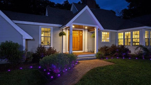 Control your outdoor lights with your smartphone.