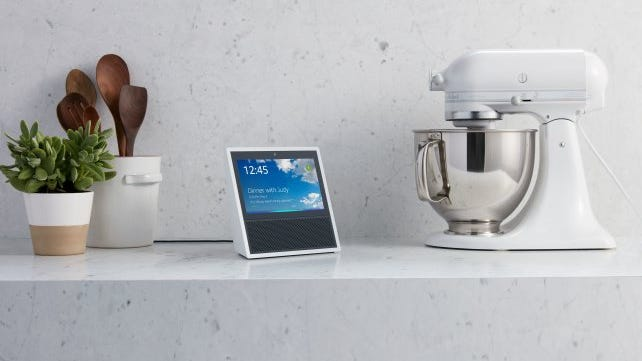 Display recipes on the screen of your Echo Show.