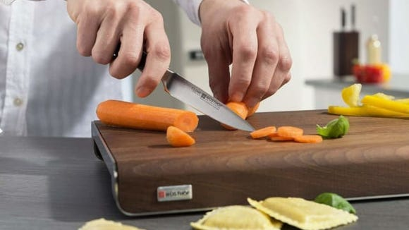 You can do all sorts of meal prep with a paring knife.