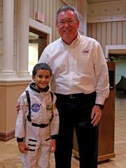 Lyndon B. Johnson Space Center Engineer Calvin Seaman