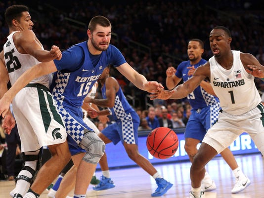NCAA Basketball: Champions Classic-Kentucky vs Michigan State