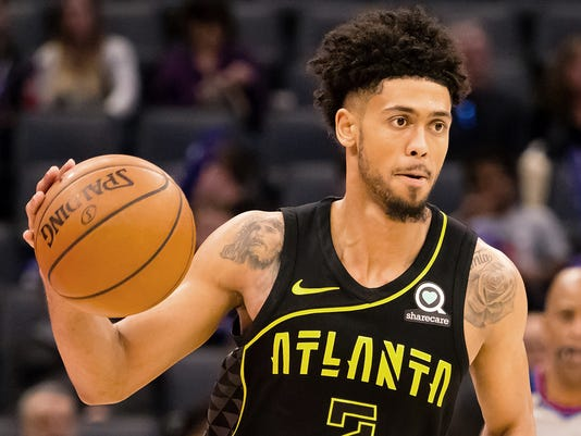 USP NBA: ATLANTA HAWKS AT SACRAMENTO KINGS S BKN SAC ATL USA CA
