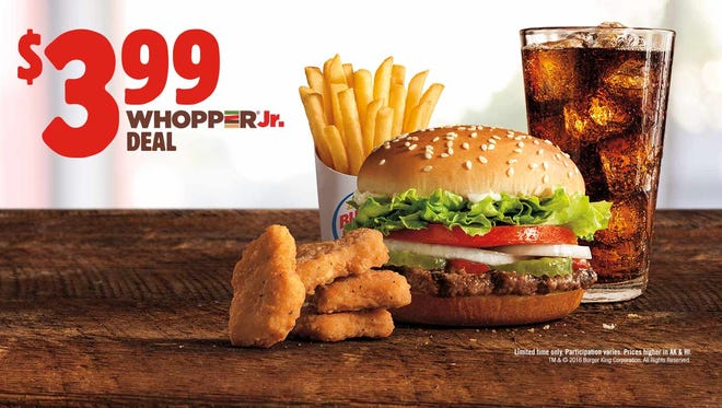 Whopper Jr. Deal