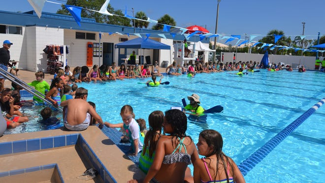 Each year aquatic centers around Brevard join the nation for the World's Largest Swim Lesson. This year it is expected to take place June 18.