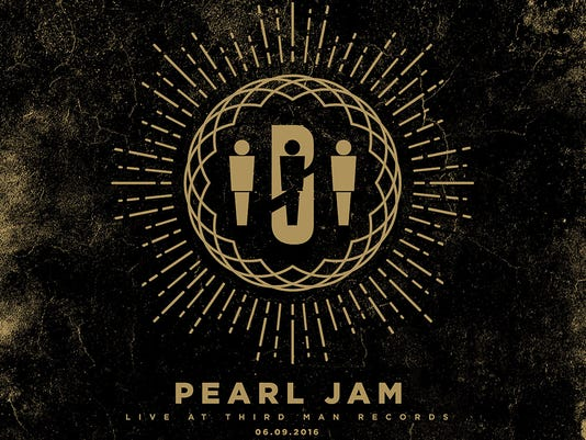 Pearl Jam at Third Man Record