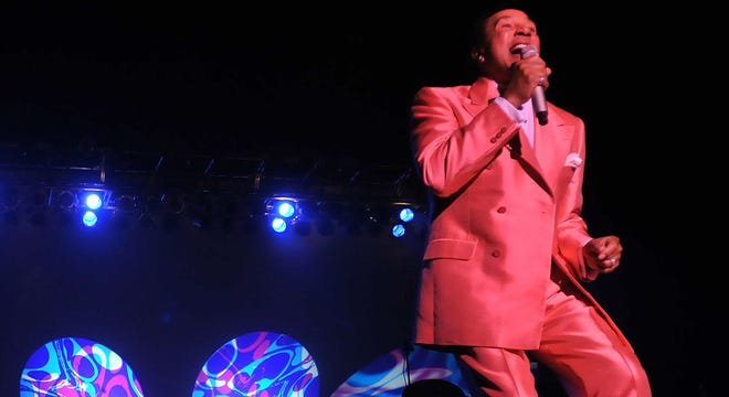 Smokey Robinson performs in Montgomery in this file photo. He's set to perform at the first Benefit the Bard event. Aug. 23 at the Alabama Shakespeare Festival.