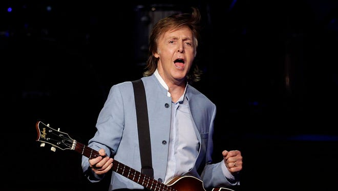 Paul McCartney headlines his first Summerfest at a sold-out Marcus Amphitheater July 8, 2016. McCartney Friday announced a June 6 show at the Kohl Center in Madison. Tickets go on sale Sept. 7.