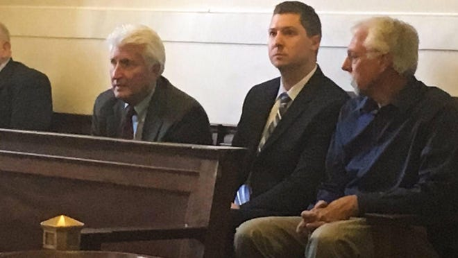 Ray Tensing appeared in Hamilton County Common Pleas court on Wednesday for a hearing ahead of his retrial.
