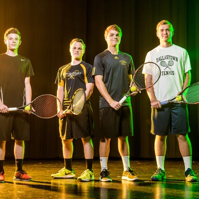 GameTimePA.com YAIAA boys' tennis all-stars 2017