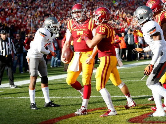 Joel Lanning, Iowa State's athletic and powerful-armed quarterback, has won over his teammates in the offseason.