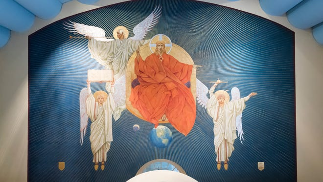 Christ the Judge by John De Rosen