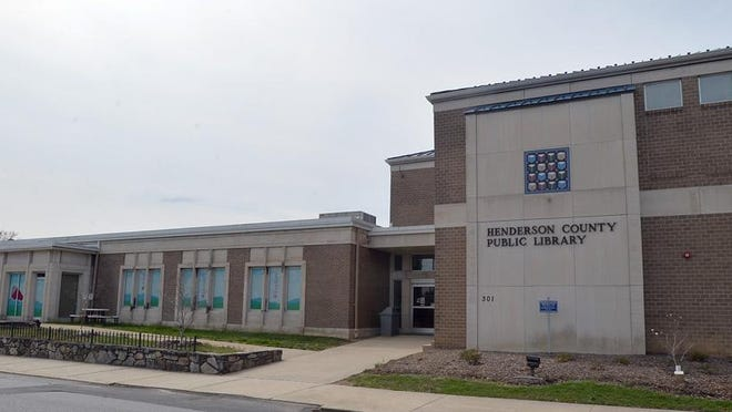 Henderson County Public Library main branch in Hendersonville.