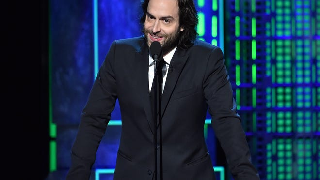 "Comedian Chris D'Elia speaks at the ""Comedy Central Roast of Justin Bieber"" in 2015."