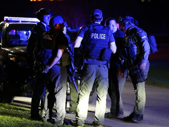 The May 3, 2015, shooting on the Fox Cities Trestle Trail drew a large police response.