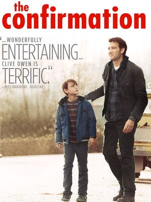 Jaeden Lieberher and Clive Owen star as a son and his dad in 'The Confirmation.'