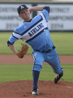 Airline's Kyle Backofen struck out eight and gave up just two hits in the Vikings' win over Central Lafourche.