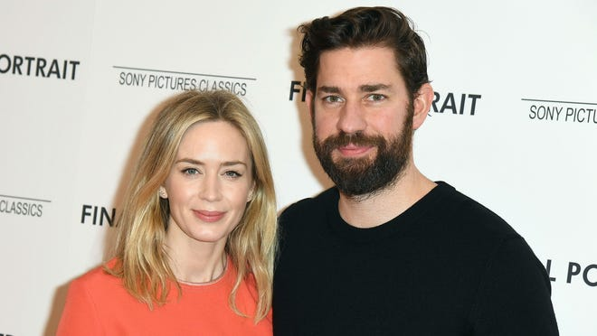 """Emily Blunt and John Krasinski, stars of """"A Quiet Place,"""" promote their nanny's book and discuss the best advice she ever gave them. The book is called, """"The Nanny Connie Way."""""""